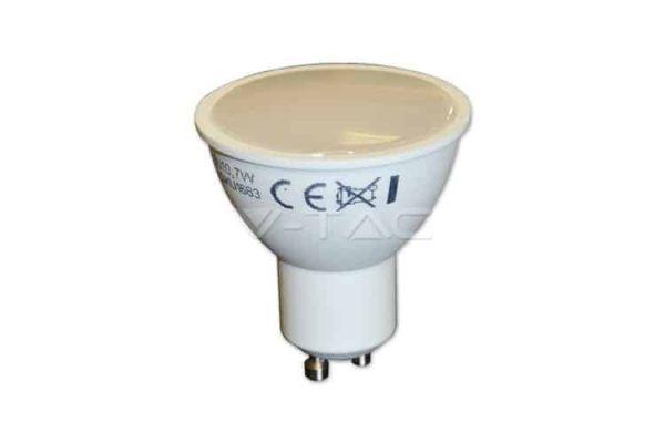 Comprar  Bombilla Led GU10 Difuso 7W V-TAC 500LM 6000K