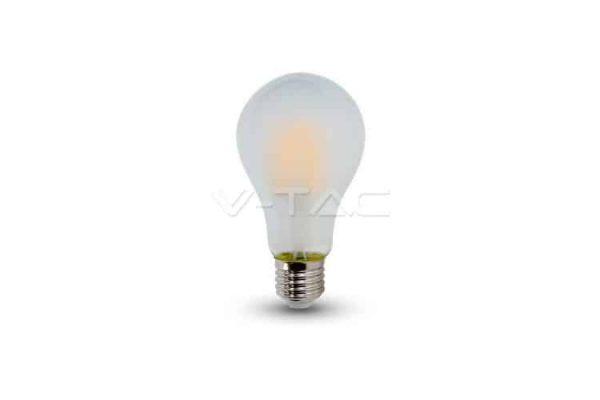 Comprar  Bombilla Led E27 A60  Filamento 4W V-TAC 400LM 6000K