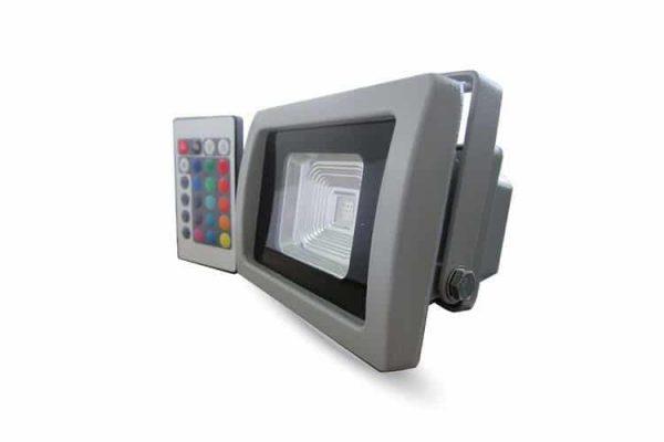 Comprar  Proyector Led RGB Series IP65 Control Remoto por Infrarrojos 10W 800LM Especial