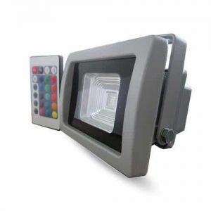 Comprar  Proyector Led RGB Series IP65 Control Remoto por RF 10W 800LM Especial