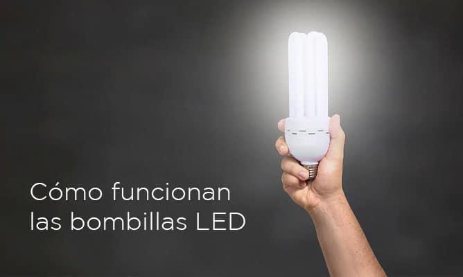 como funcionan las bombillas LED